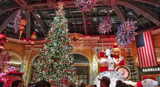 DAY 2 in Las Vegas – December Itinerary