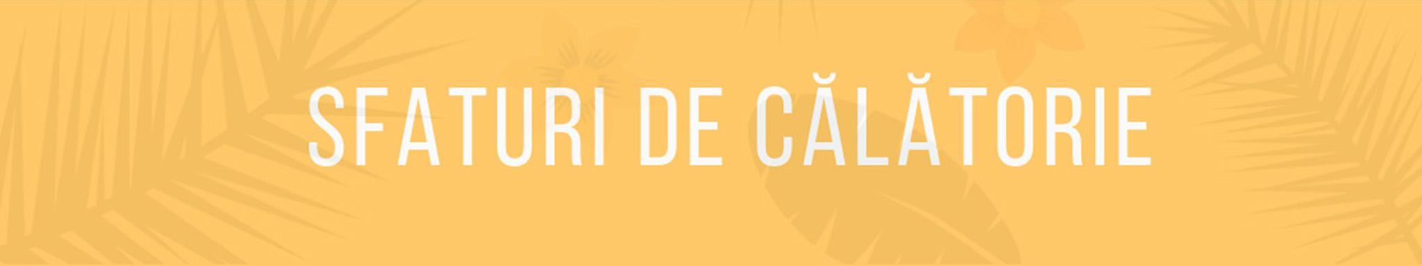 SfaturiDeCalatorie banner