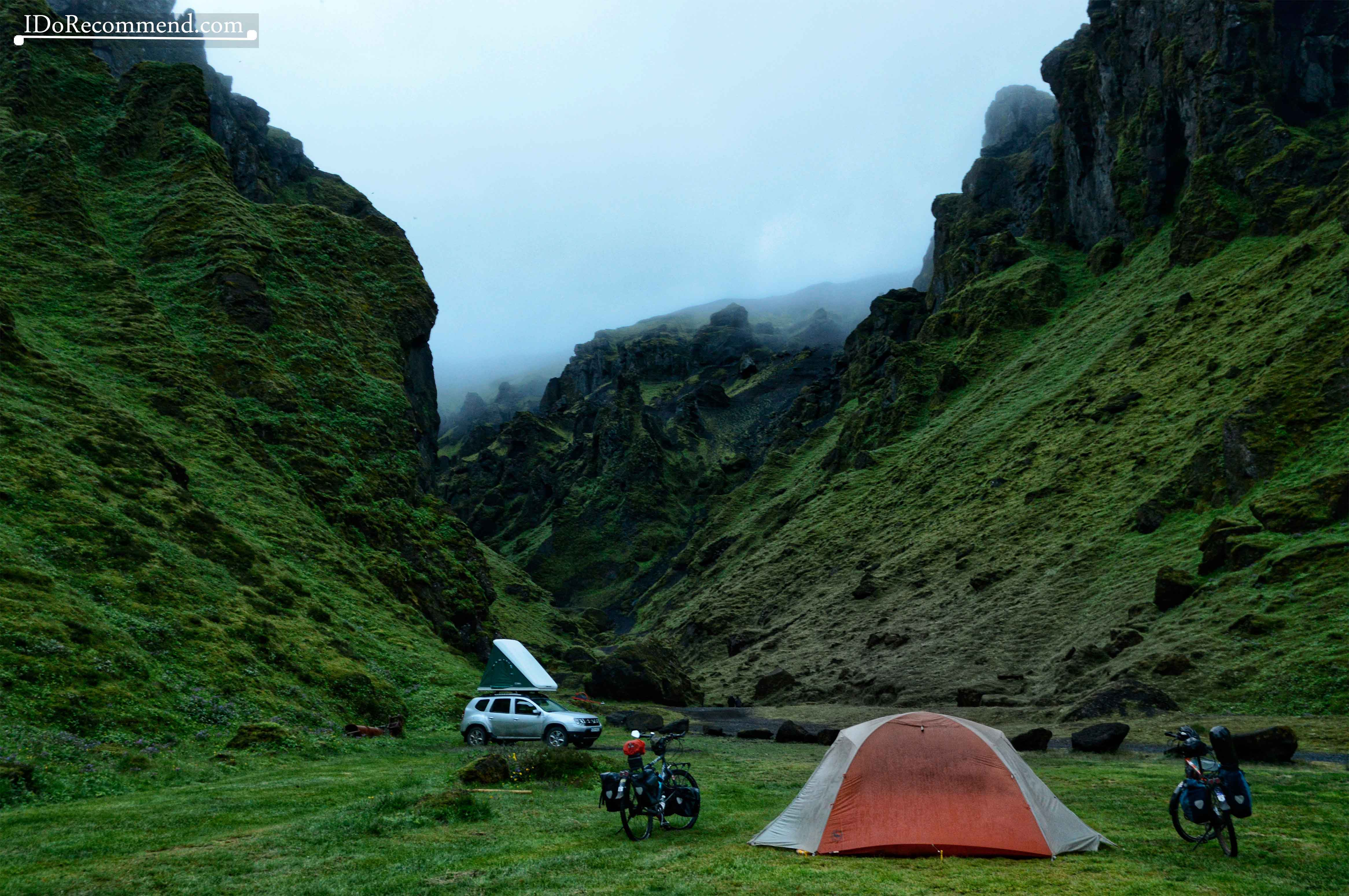 Þakgil Camping