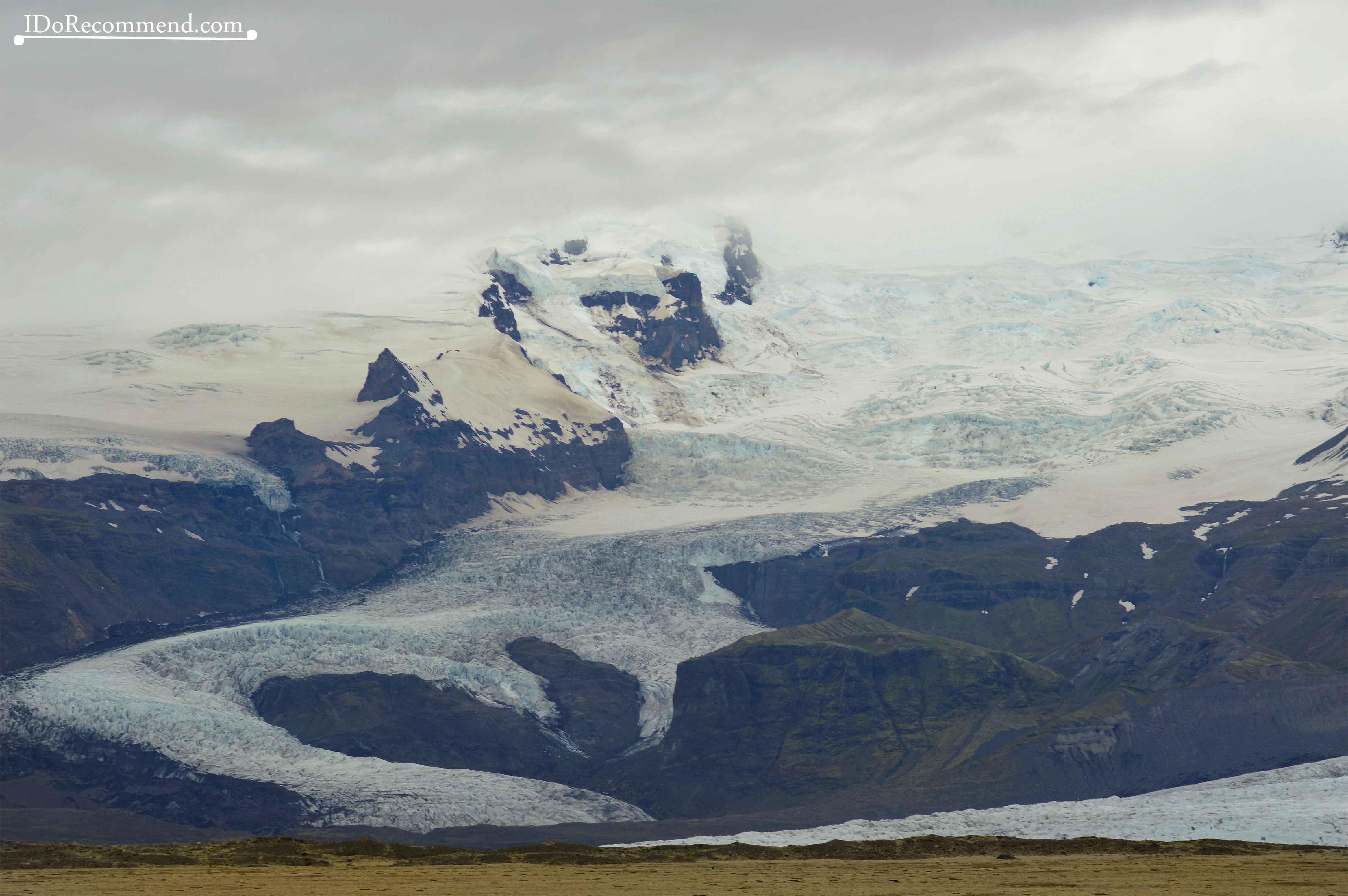 Vatnajökull glacier tongue of ice
