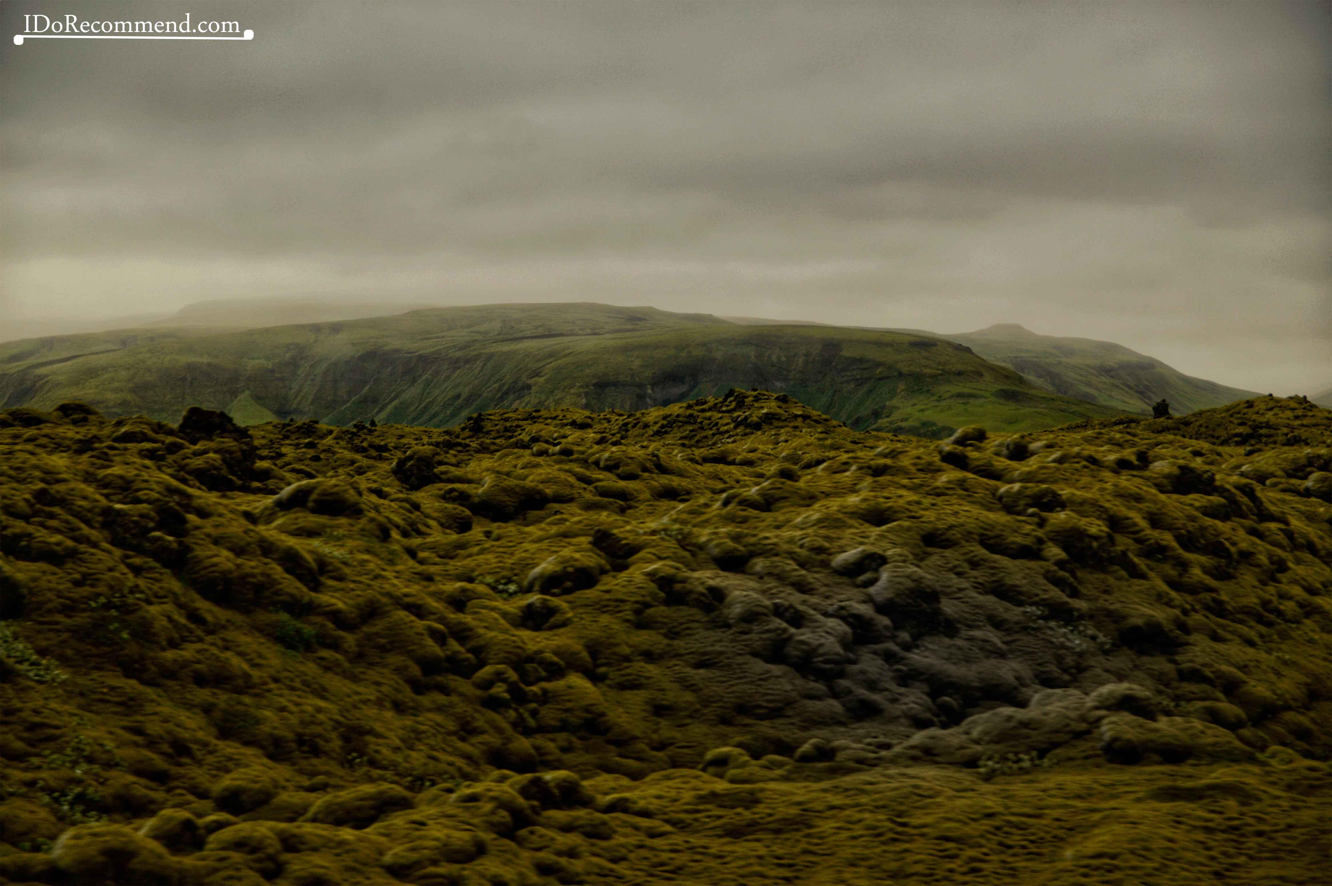 """Eldhraun lava field (""""Fire Lava"""")"""