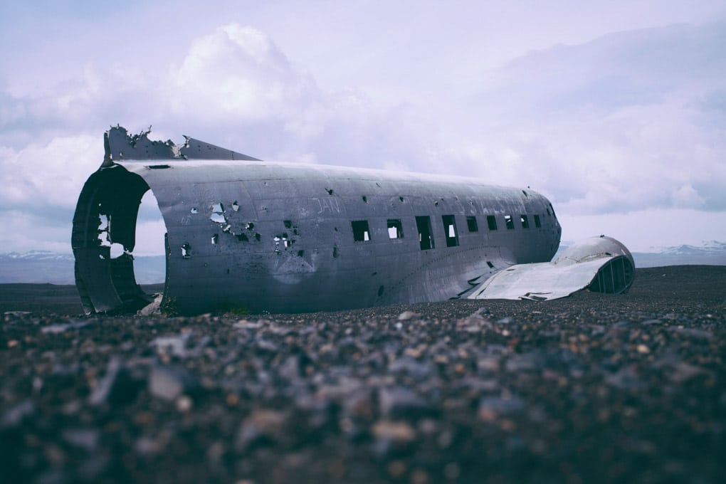 Solheimasandur plane wreck ©adventures.is