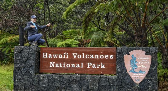 Hawaii Volcanoes National Park in images